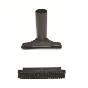 UT-115 – 6″ wide upholstery tool with removable bristles (1.5″ diameter)